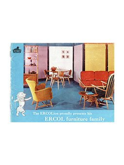 ercol catalogue 1956 leaflet