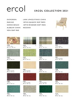 ercol Collection leaflet