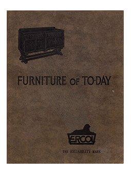 ercol catalogue 1933 leaflet