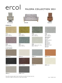 Paloma Collection leaflet
