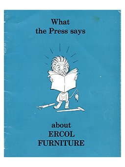 what the press says about Ercol Furniture leaflet