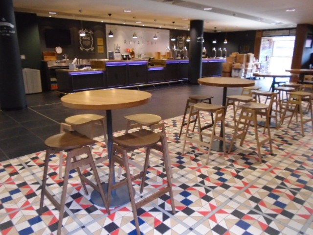 Svelto bar stools at Arsenal Emirates Stadium