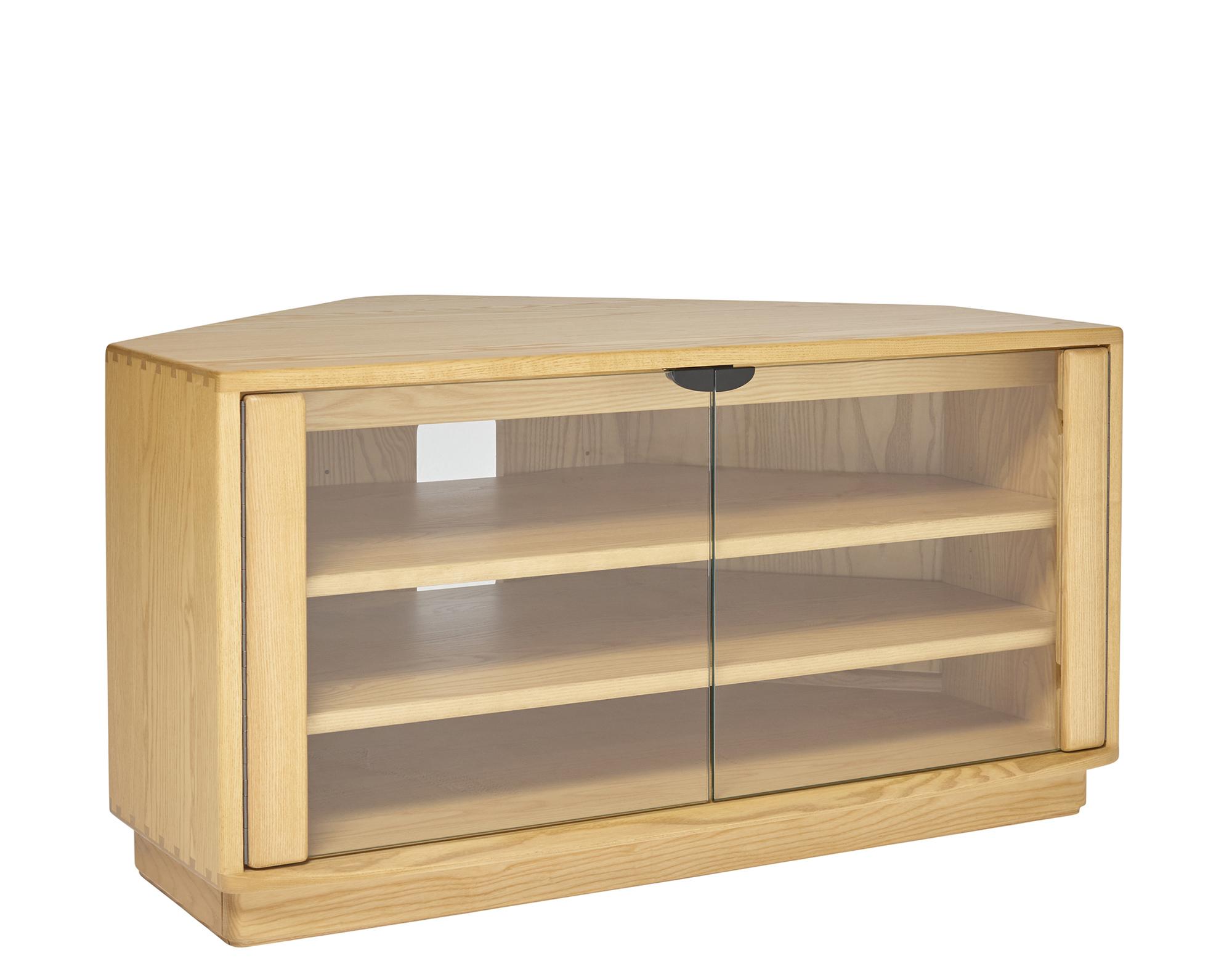 ercol style tv cabinet. Black Bedroom Furniture Sets. Home Design Ideas