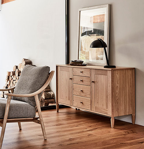 Marino chair with Capena sideboard