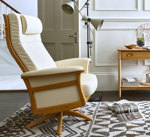 gina recliner ercol furniture. Black Bedroom Furniture Sets. Home Design Ideas