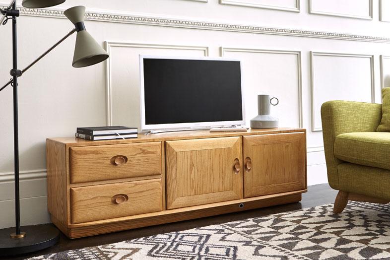 tv media cabinets living room ercol furniture