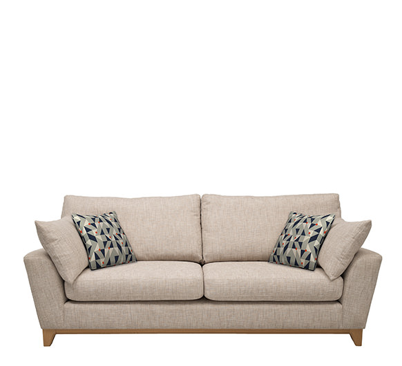 Chalgrove large sofa ercol furniture for Sofa 70 cm deep