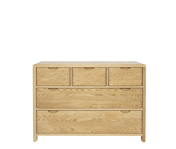 Chests of Drawers five drawer wide chest