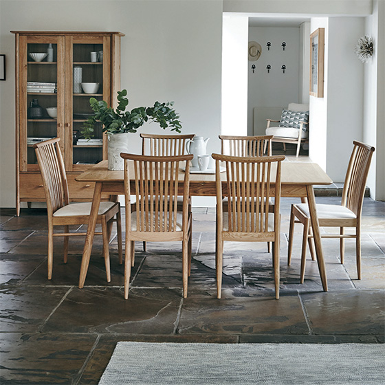 Teramo dining collection from ercol