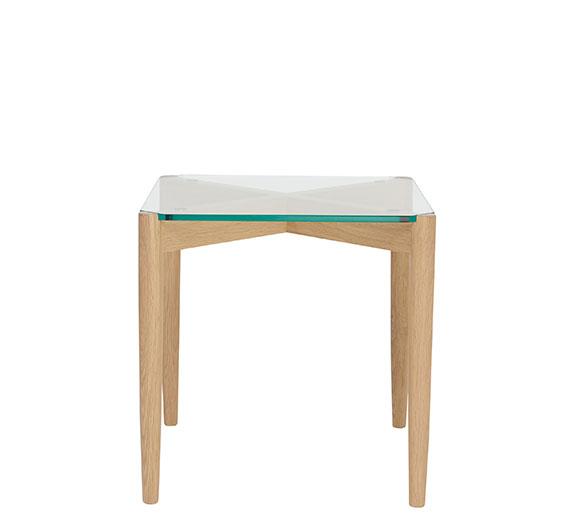 Chesham glass oak side table coffee lamp tables ercol furniture coffee amp lamp tables glass oak side table aloadofball Choice Image