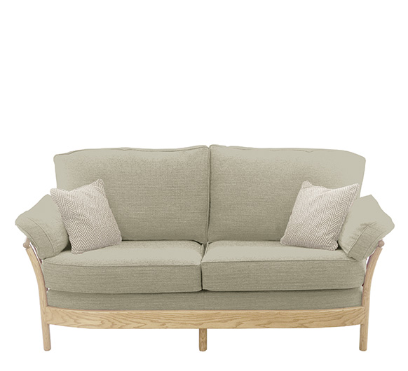 Renaissance 3 seater sofa ercol furniture for Barock sofa weiay