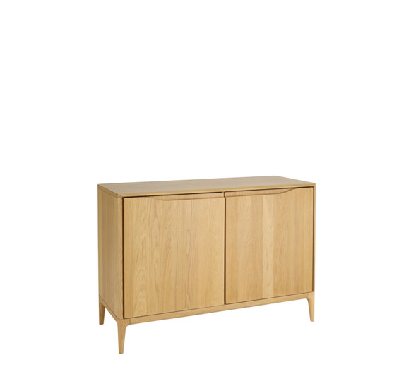 Romana 2 door sideboard sideboards display cabinets for Ercol mural cabinets and sideboards