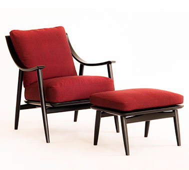 Marino chair and footstool