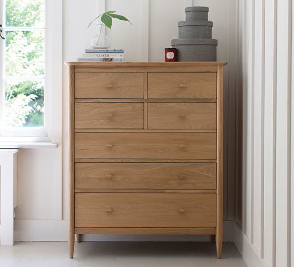 Teramo 7 drawer tall wide chest