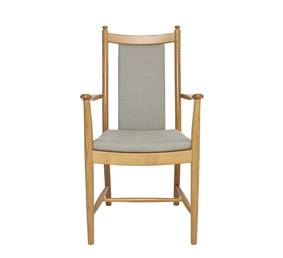 Dining Chairs Penn padded back dining armchair