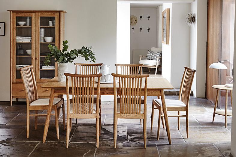 teramo dining ercol furniture. Black Bedroom Furniture Sets. Home Design Ideas