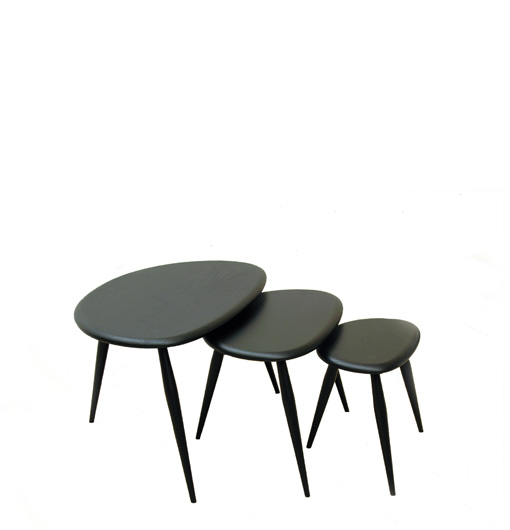 ercol nest of tables gallery table decoration ideas. Black Bedroom Furniture Sets. Home Design Ideas