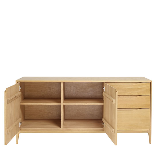 Romana sideboard wooden sideboard ercol for Sideboard romina