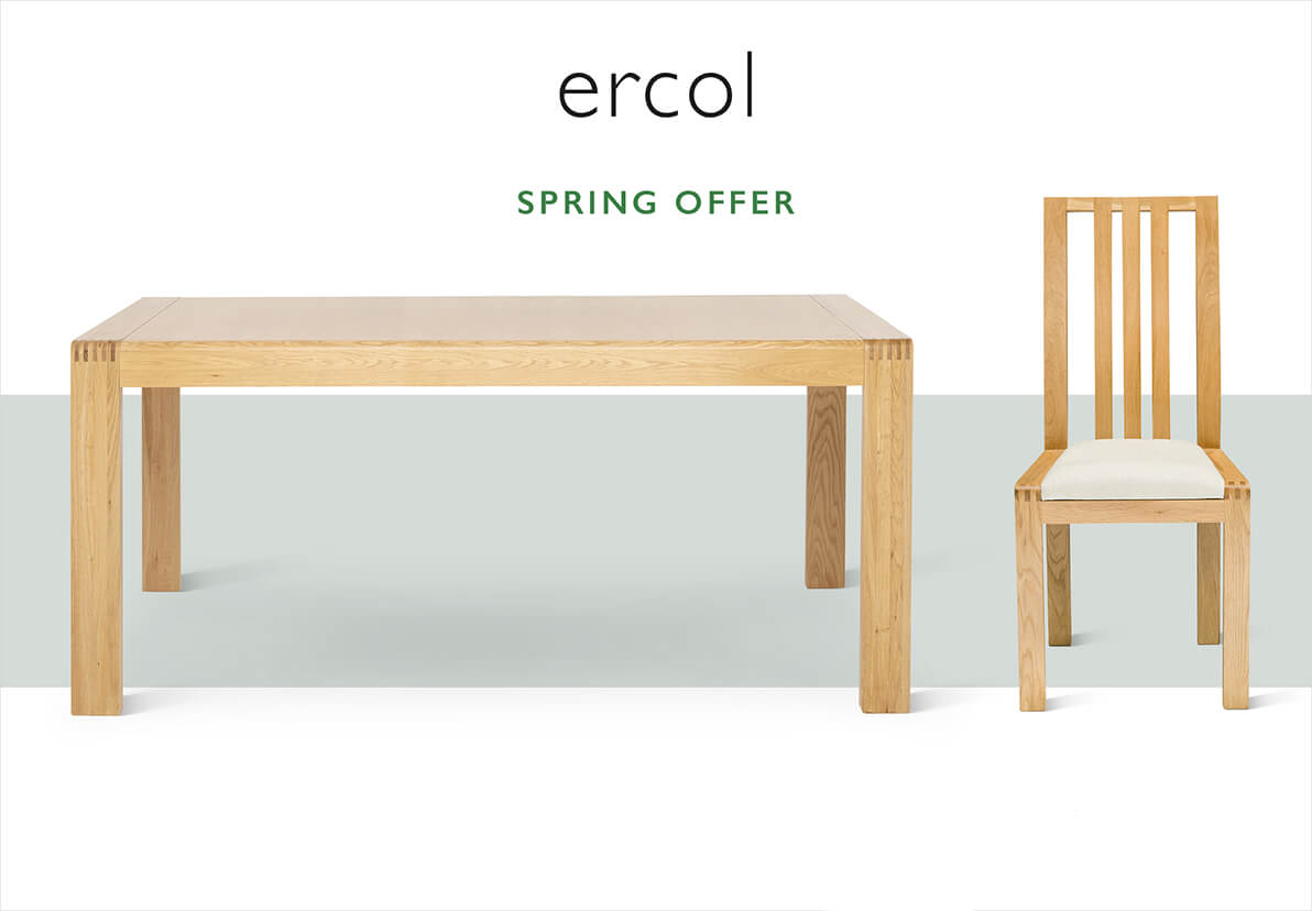 Bosco medium dining table and chair