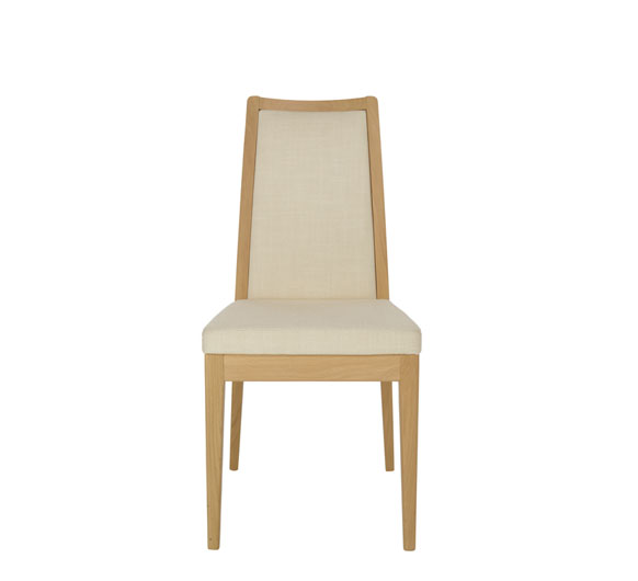 Romana padded back dining chair