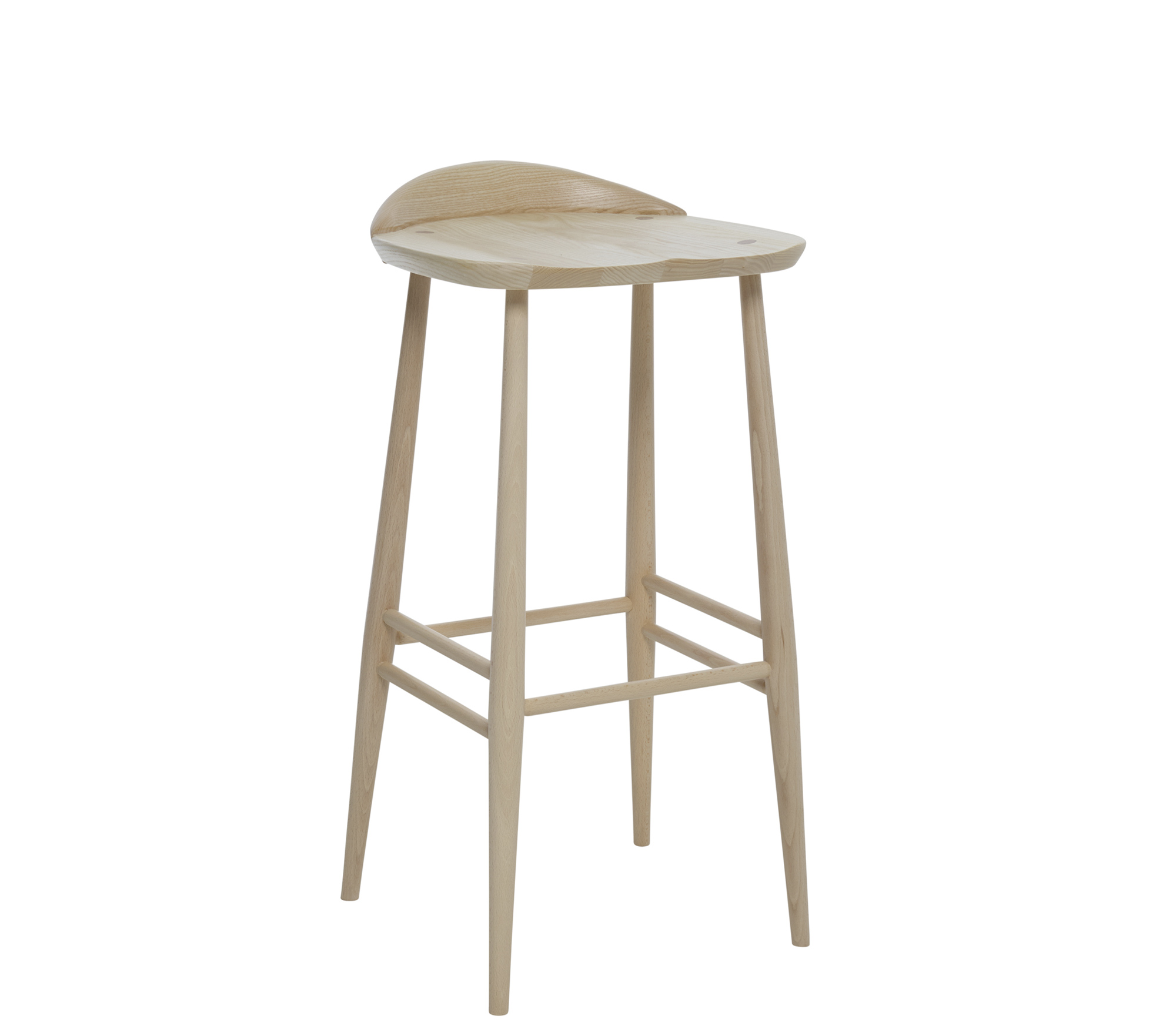 Originals Bar Stool With Back Ercol Furniture
