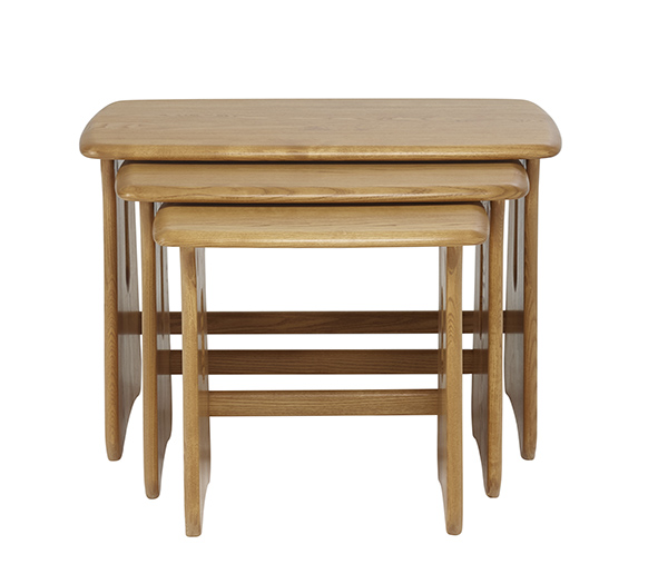 Windsor nest of tables coffee lamp tables ercol furniture coffee amp lamp tables nest of tables aloadofball Image collections